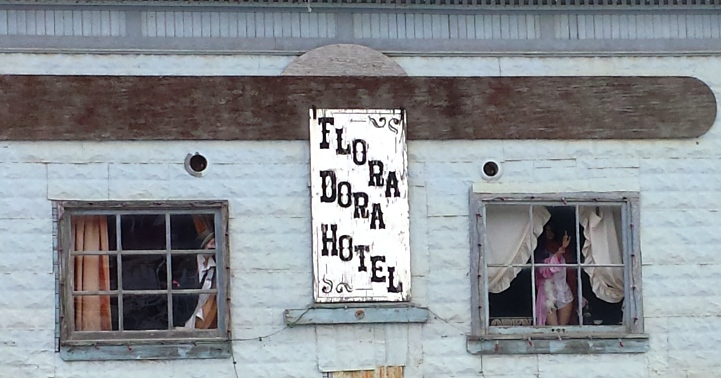 The Flora Dora Hotel from 1890s