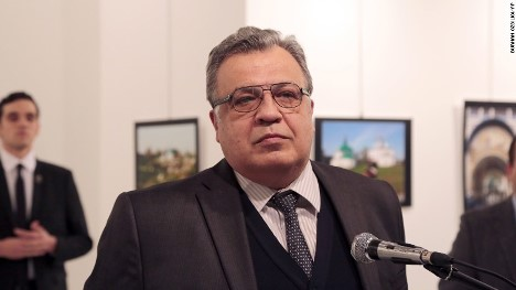 Russian Ambassador to Turkey, Andrey Karlov