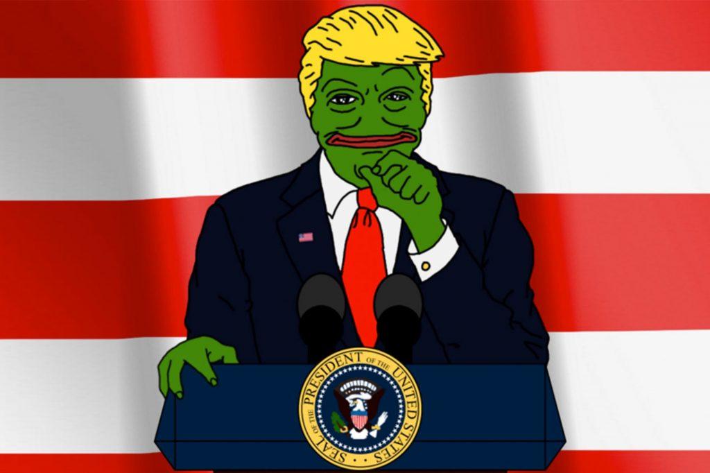 Trump as Pepe