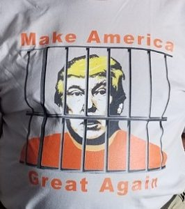 MAGA--Trump behind bars